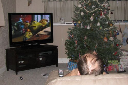 chuck-watching-tv