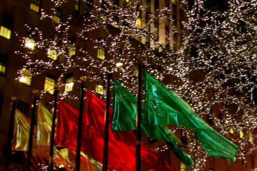 flags-at-rockefeller-center