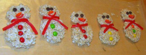 five-snowmen