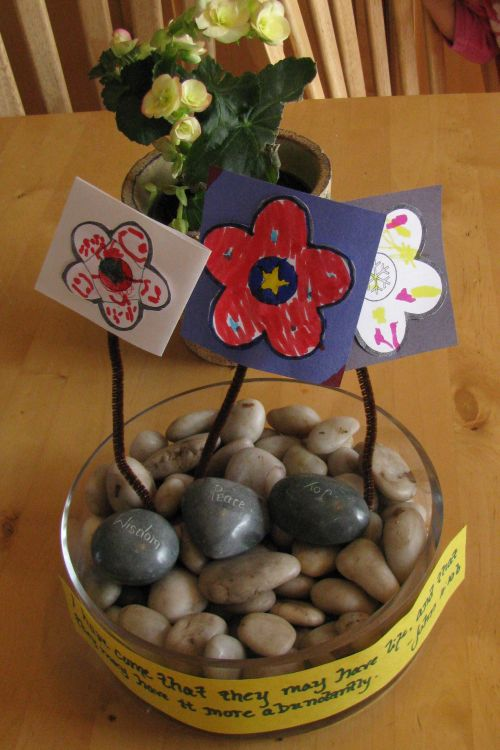 paper-flower-study-beginning
