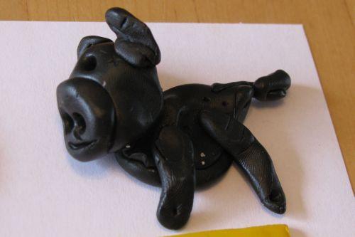 sculpey-clay-pig
