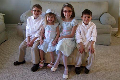 all-four-children