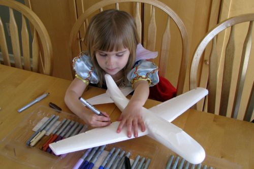 breanna-coloring-her-plane