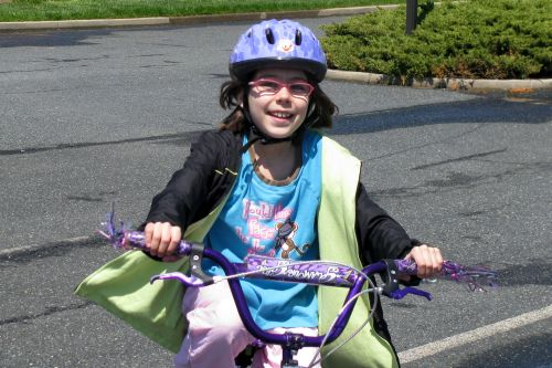 brooke-on-bike