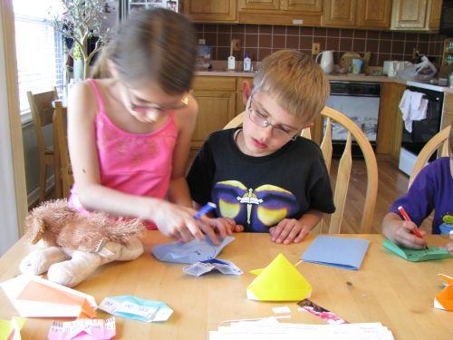 making-origami