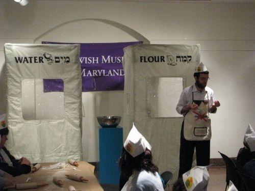 matzah-tents