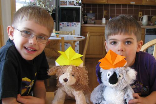 origami-hats