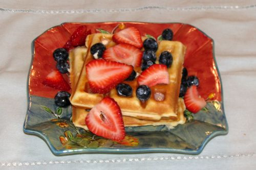 white-flour-waffles