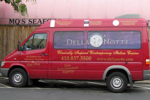 della-notte-van