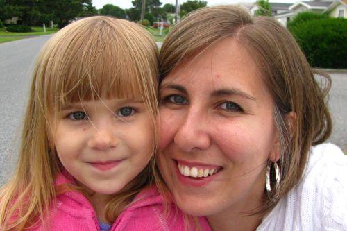 brea and mom