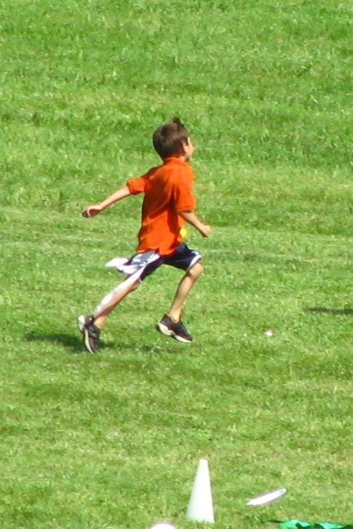 Brian running