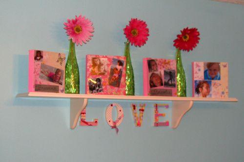 girls shelf