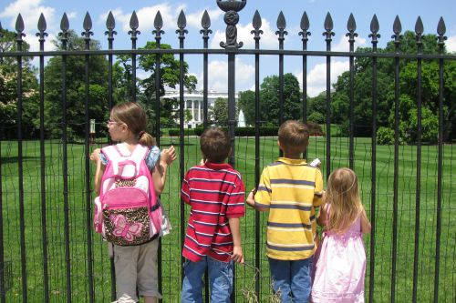 kids at white house