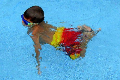 brian swimming