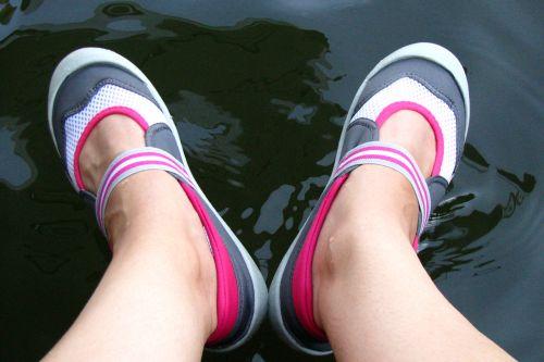 deb's feet