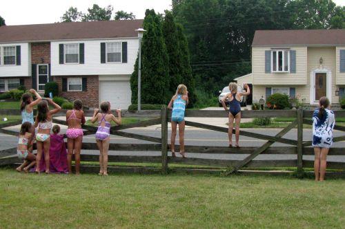 bday fence shot