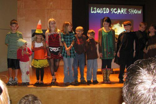 liquid scare show